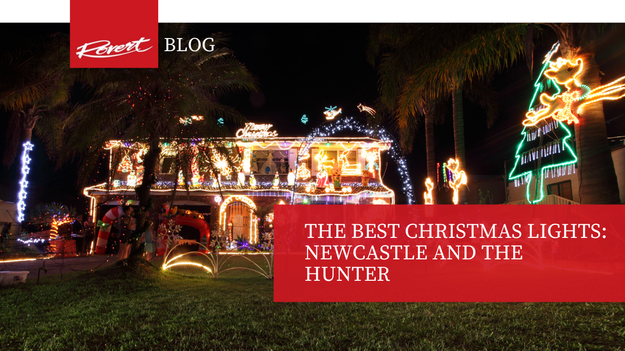 The Best Christmas Lights Newcastle and the Hunter