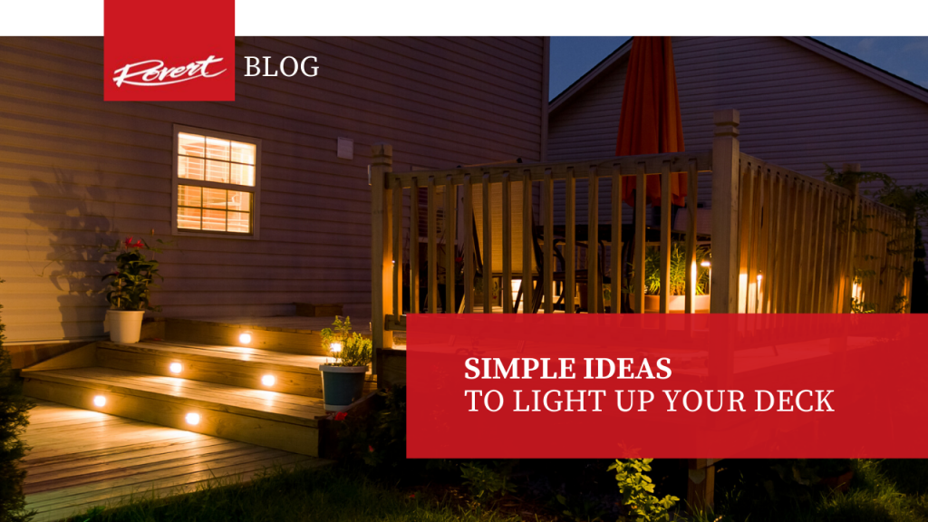 Simple Ideas To Light Up Your Deck Rovert Lighting