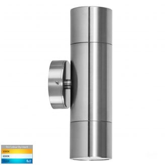 Tivah Up & Down Outdoor Wall Pillar Lights