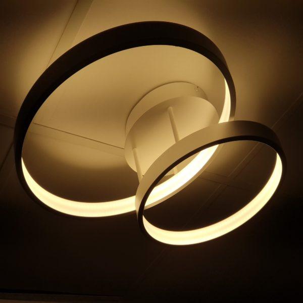 Zola 2 Light Circular LED CTC -