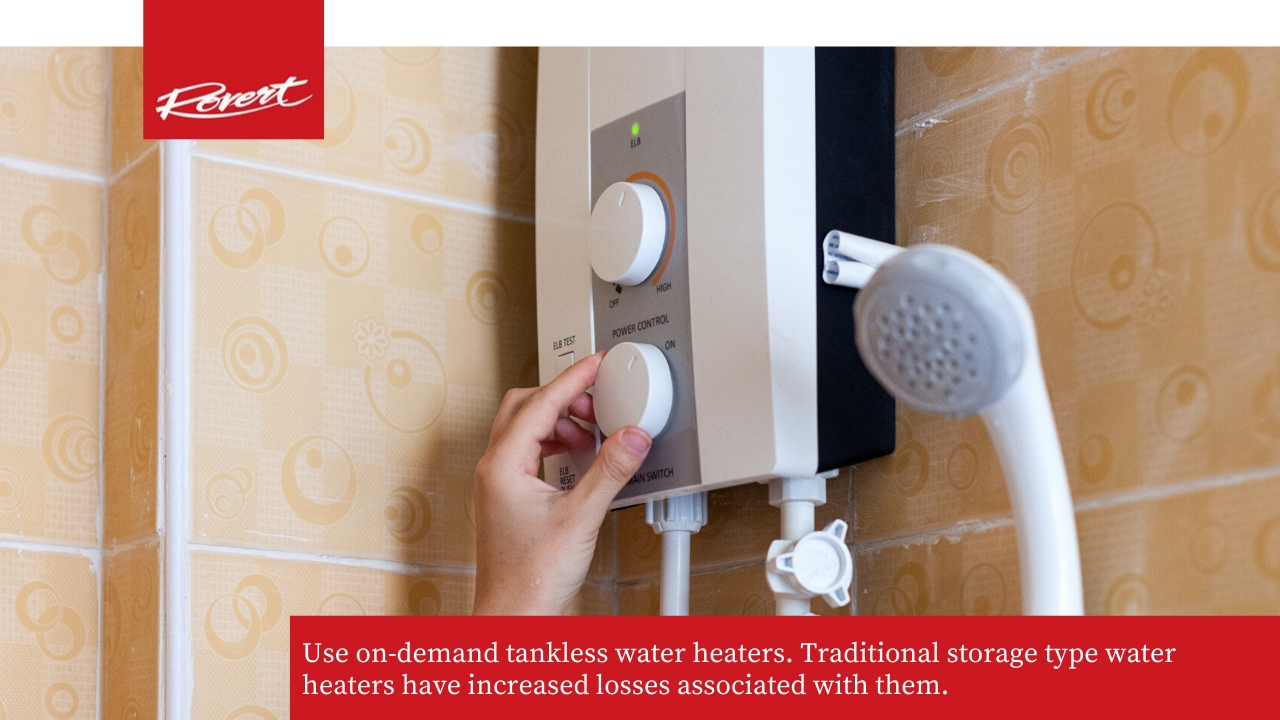 use in demand water heaters