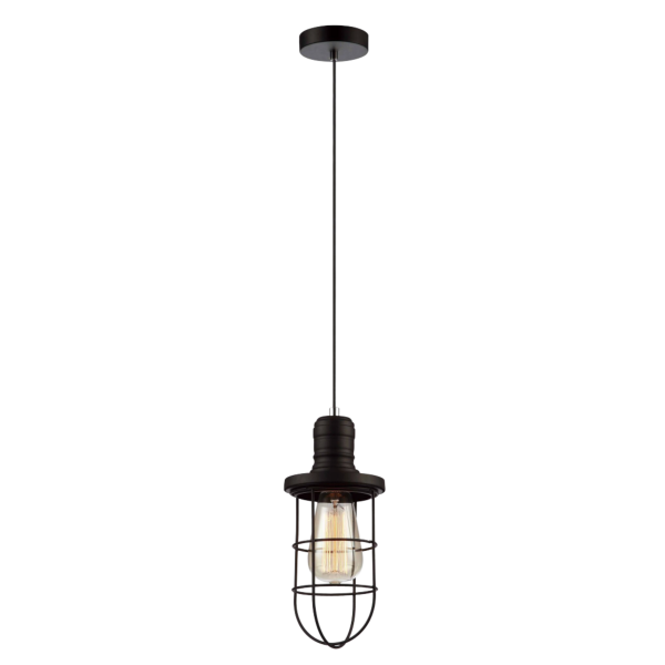 Blackband Iron Cage Pendant Light -