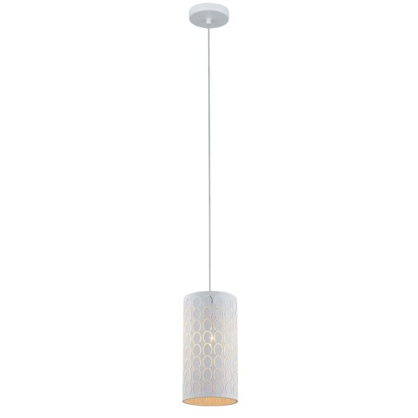 Modello Embossed Oblong Pendant Light -