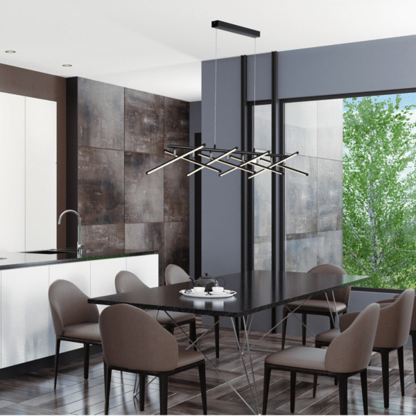 Metrix 6 Light LED Pendant Light -