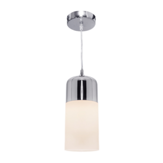 Ollie 1 Light Chrome Pendant