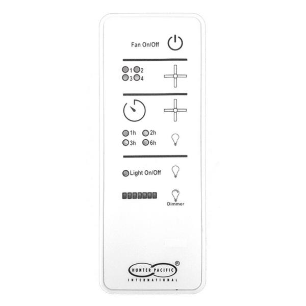 Hunter Pacific Logic AC Fan Motor Compatible Remote Control -