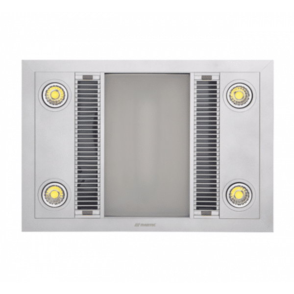 Martec Linear 3-in-1 Bathroom Heater, Fan and Light -