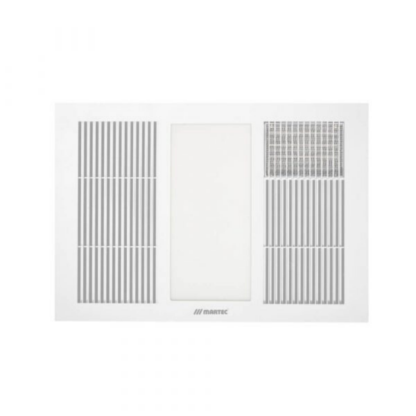 Martec Vapour 3-in-1 Bathroom Heater, Fan and Light -