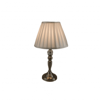 Victoria Table Lamp Satin Chrome