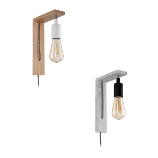 Tocopilla Timber Wall Light