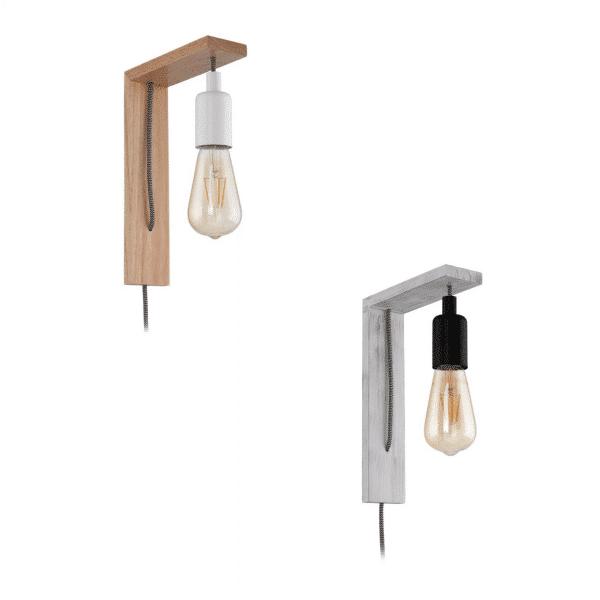 Tocopilla Timber Wall Light -