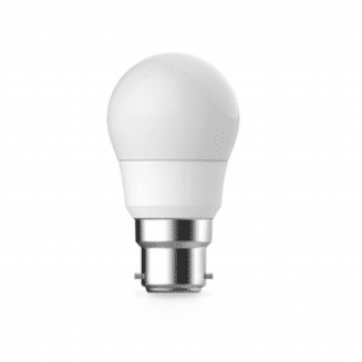 6W Frosted Dimmable SBC Fancy Round Lamp