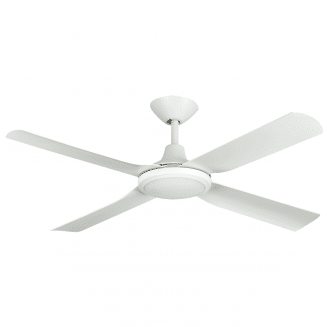 Hunter Pacific Next Creation Matt White 52″ Blade Ceiling Fan with LED Light