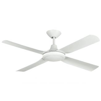 Hunter Pacific Next Creation Matt White 52″ Blade Ceiling Fan with LED Light
