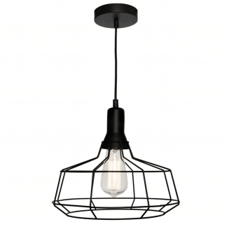 Cage Large Metal Wire Pendant Light