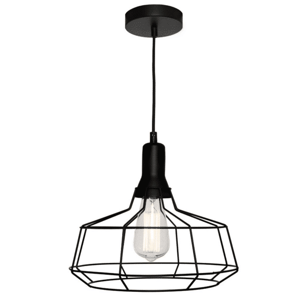 Cage Large Metal Wire Pendant Light -