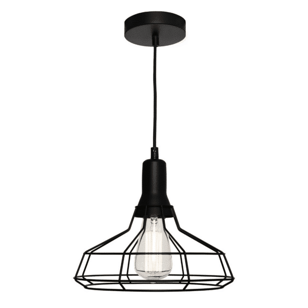 Cage Medium Metal Wire Pendant Light -