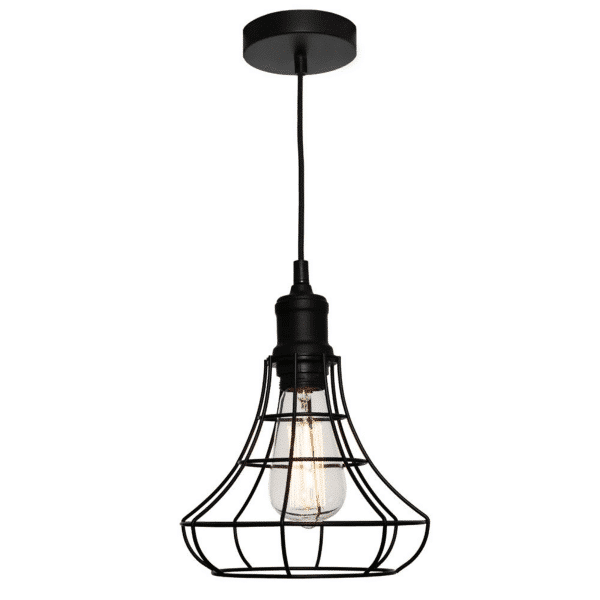 Cage Small Metal Wire Pendant Light -
