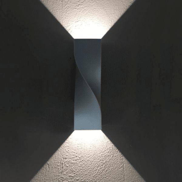 Giro Exterior LED Up/Down Wall Lights -