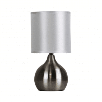 Lotti Touch Lamp Brushed Chrome
