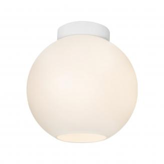 Orpheus Spherical Glass Batten Fix White