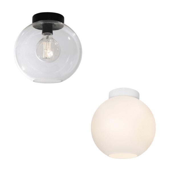 Orpheus Spherical Glass Batten Fix -
