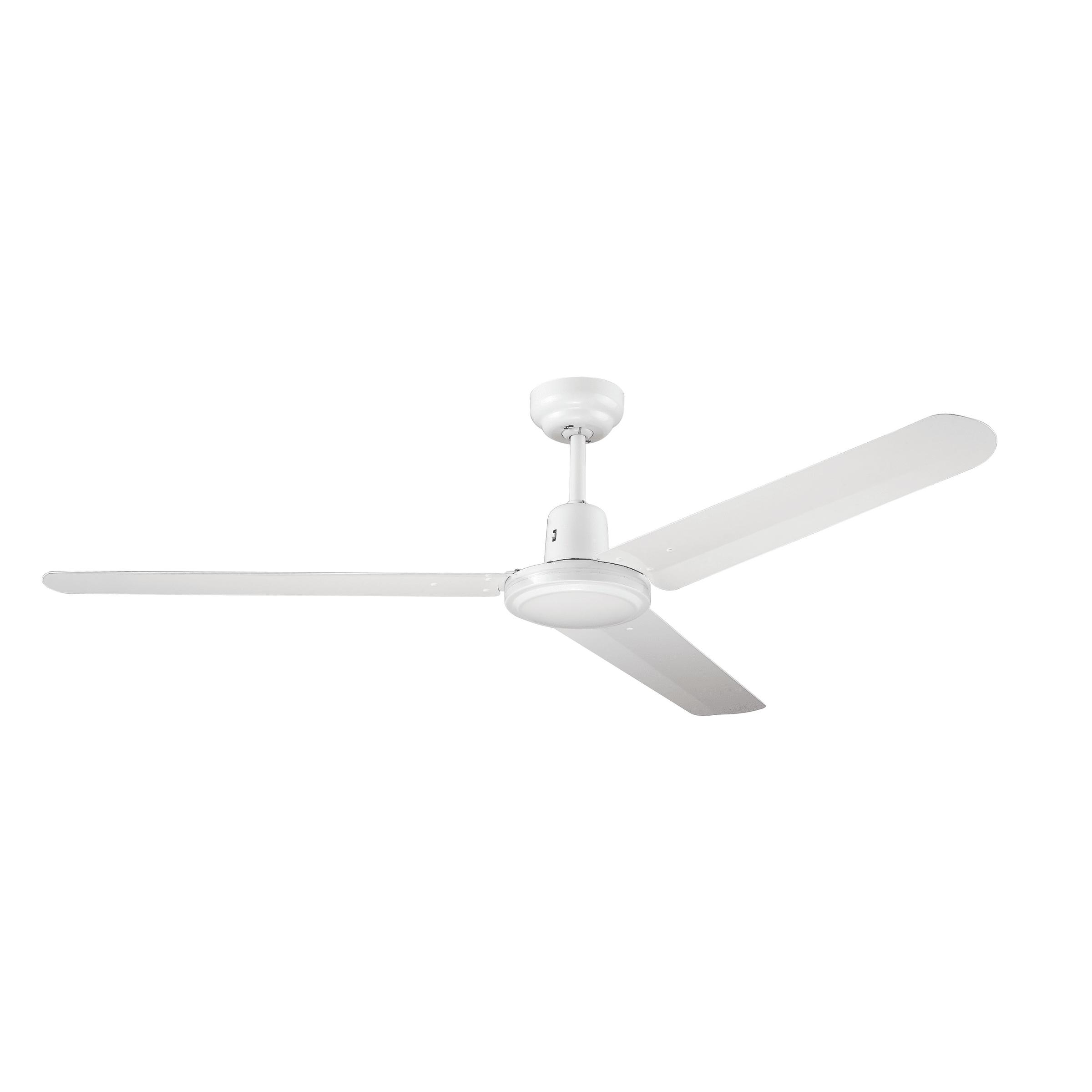 Hunter Pacific Tradey White 48 3 Blade Ceiling Fan Rovert Lighting