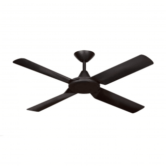 Hunter Pacific New Image Matt Black DC Ceiling Fan with Remote and Wall Control