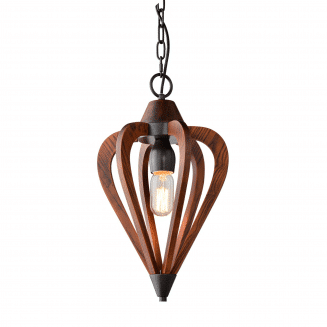 Senorita1 Cherry Wood Pendant Light