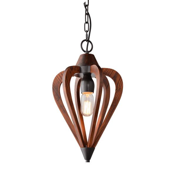Senorita1 Cherry Wood Pendant Light -