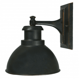 Terminal Exterior Wall Bracket Antique Bronze