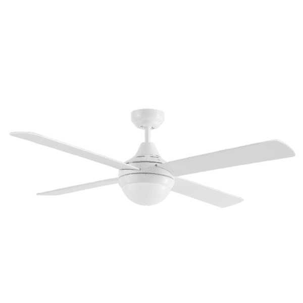 Martec Four Seasons Link White Ceiling Fan with E27 Light -