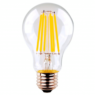 GLS 8W ES Clear Dimmable LED Filament Globe Warm White (SAL)