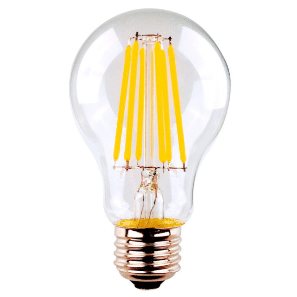 GLS 8W ES Clear Dimmable LED Filament Globe Warm White (SAL) -