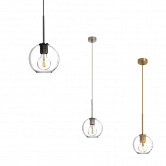 Pico Glass Pendant Light