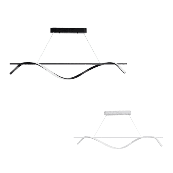 Swirl LED Pendant Light -