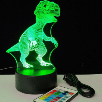 T Rex 3D Night Light
