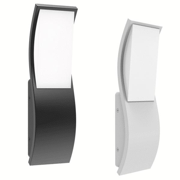 OLA exterior LED wavy wall light