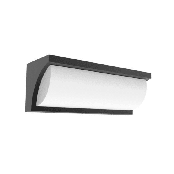 Repisa LED Wedge Exterior Wall Light Grey