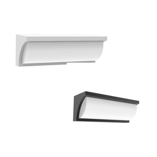 Repisa LED Wedge Exterior Wall Light