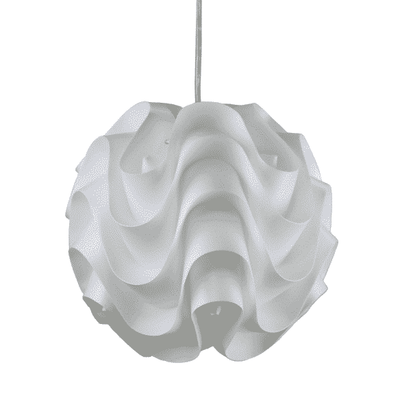 Chic Acrylic Retro Pendant Light