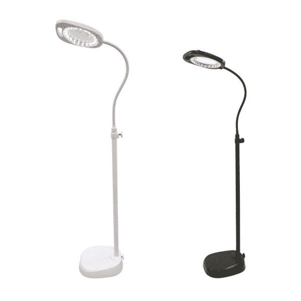 LED Magnifier Floor Lamp