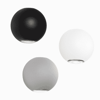Genoa Up Down Round Exterior Wall Light