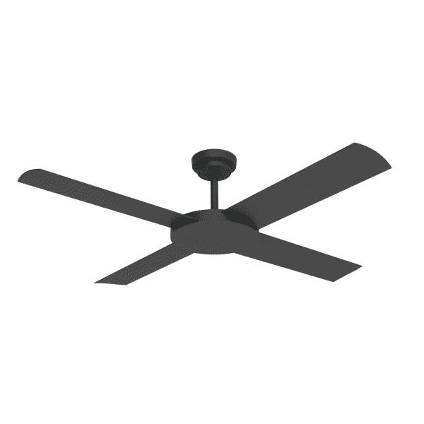 Hunter Pacific Revolution 3 Black Ceiling Fan
