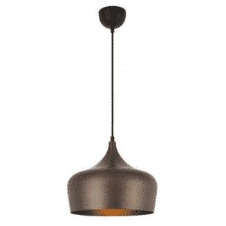 Polk Shaded Pendant Light Bronze